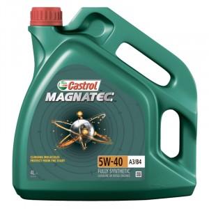Моторное масло Castrol Magnatec A3/B4 5W-40 (4 л)