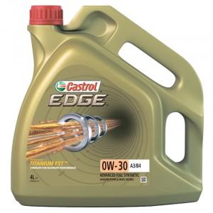 Моторное масло Castrol EDGE Titanium FST A3/B4 0W-30 (4 л)