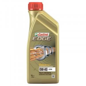 Моторное масло Castrol EDGE Titanium FST A3/B4 0W-40 (1 л)