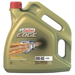 Моторное масло Castrol EDGE Titanium FST A3/B4 0W-40 (4 л)