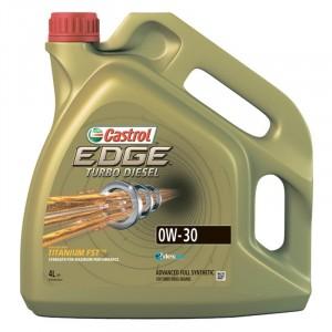 Моторное масло Castrol EDGE Turbo Diesel Titanium FST 0W-30 (4 л)