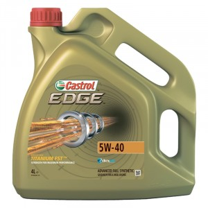 Моторное масло Castrol EDGE Titanium FST C3 5W-40 (4 л)