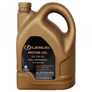 Моторное масло Lexus 5W-40 (4 л)