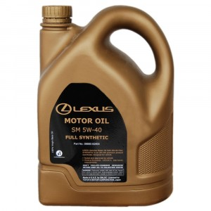 Моторное масло Lexus 5W-40 (5 л)