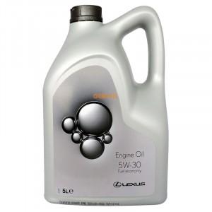 Моторное масло Lexus Fuel Economy 5W-30 (5 л)