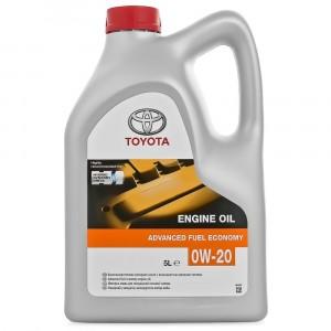 Моторное масло Toyota Advanced Fuel Economy 0W-20 (5 л)