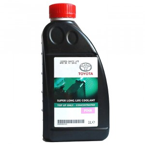 Антифриз Toyota Super Long Life Coolant, розовый (1 л)