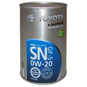 Моторное масло Toyota GF-5 0W-20 (1 л)