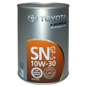 Моторное масло Toyota GF-5 10W-30 (1 л)