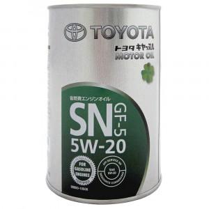 Моторное масло Toyota GF-5 5W-20 (1 л)