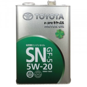 Моторное масло Toyota GF-5 5W-20 (4 л)