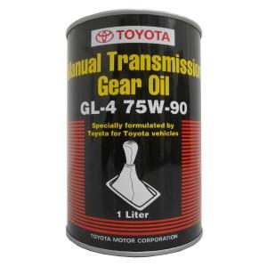 Трансмиссионное масло Toyota Manual Transmission Gear Oil 75W-90 (1 л)