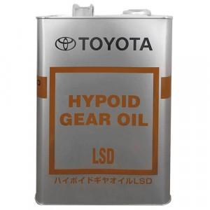 Трансмиссионное масло Toyota Hypoid Gear Oil LSD 85W-90 (4 л)