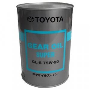 Трансмиссионное масло Toyota Gear Oil Super 75W-90 (1 л)