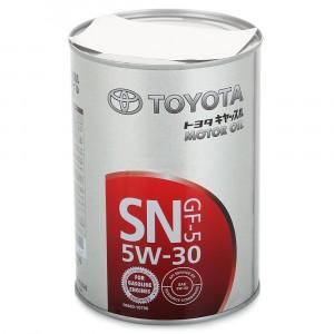 Моторное масло Toyota GF-5 5W-30 (1 л)