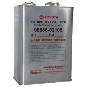 Трансмиссионное масло Toyota CVT Fluid TC (4 л)