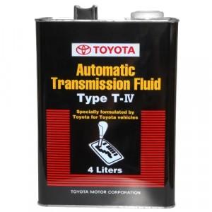 Трансмиссионное масло Toyota ATF Type T-IV (4 л)