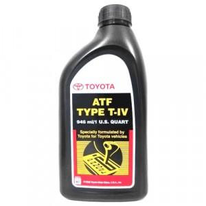 Трансмиссионное масло Toyota ATF Type T-IV (0,946 л)