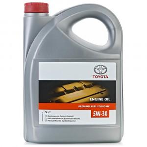 Моторное масло Toyota Premium Fuel Economy 5W-30 (5 л)