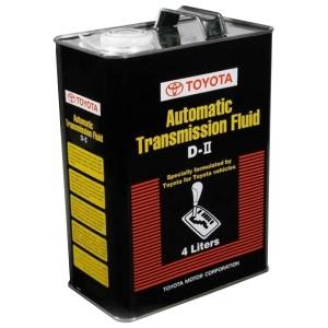 Трансмиссионное масло Toyota ATF D-II UAE (4 л)