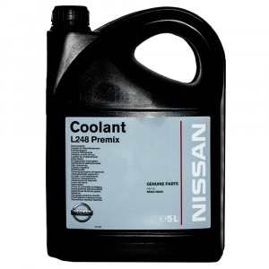 Антифриз Nissan Coolant L248 Premix, зеленый (5 л)