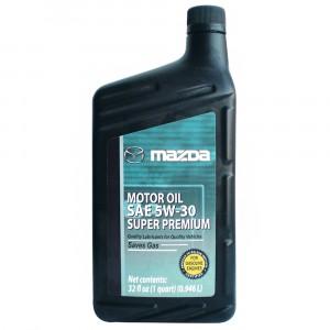 Моторное масло Mazda Super Premium 5W-30 (0,946 л)