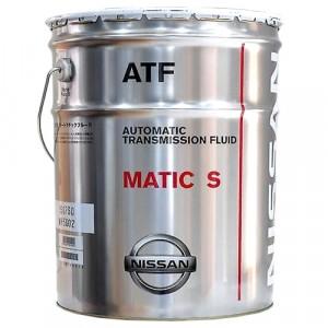 Трансмиссионное масло Nissan ATF Matic-S (20 л)
