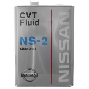 Трансмиссионное масло Nissan CVT NS-2 (4 л)