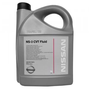 Трансмиссионное масло Nissan CVT NS-3 (5 л)
