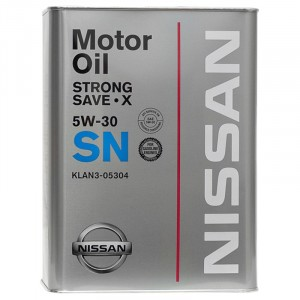 Моторное масло Nissan Strong Save-X 5W-30 (4 л)