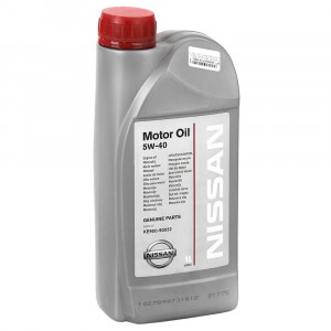 Моторное масло Nissan 5W-40 (1 л)