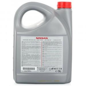 Моторное масло Nissan 5W-40 (5 л)