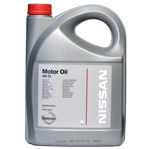 Моторное масло Nissan 5W-30 (5 л)