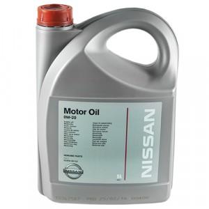 Моторное масло Nissan 0W-20 (5 л)