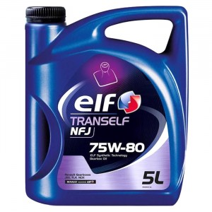 Трансмиссионное масло Elf Tranself NFJ 75W-80 (5 л)