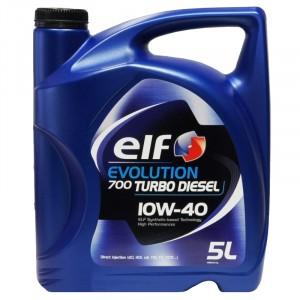 Моторное масло Elf Evolution 700 Turbo Diesel 10W-40 (5 л)