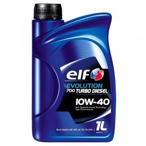 Моторное масло Elf Evolution 700 Turbo Diesel 10W-40 (1 л)