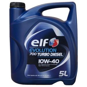 Моторное масло Elf Evolution 700 STI 10W-40 (5 л)