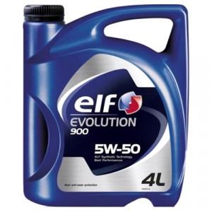Моторное масло Elf Evolution 900 5W-50 (4 л)