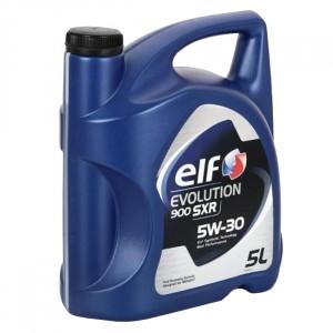 Моторное масло Elf Evolution 900 SXR 5W-30 (5 л)