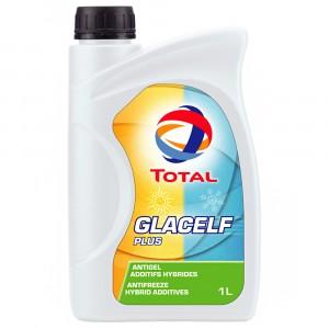 Антифриз Total Glacelf Plus, сине-зеленый (1 л)