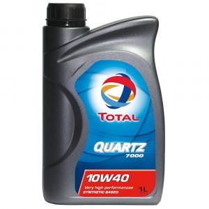Моторное масло Total Quartz 7000 10W-40 (1 л)