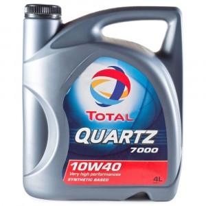 Моторное масло Total Quartz 7000 10W-40 (4 л)
