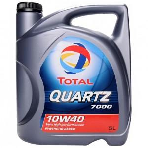 Моторное масло Total Quartz 7000 10W-40 (5 л)