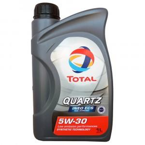 Моторное масло Total Quartz Ineo ECS 5W-30 (1 л)
