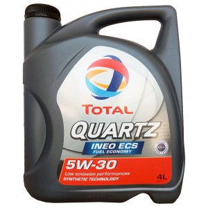 Моторное масло Total Quartz Ineo ECS 5W-30 (4 л)