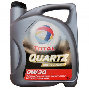 Моторное масло Total Quartz Ineo First 0W-30 (4 л)