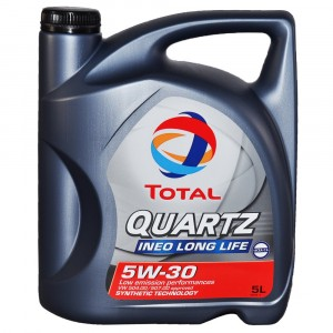 Моторное масло Total Quartz Ineo Long Life 5W-30 (5 л)