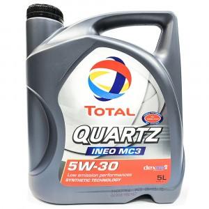 Моторное масло Total Quartz Ineo MC3 5W-30 (5 л)