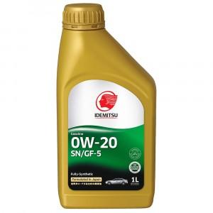 Моторное масло Idemitsu 0W-20 (1 л)
